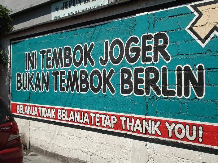 Joger, Belanja Tidak Belanja Tetap Thank You!