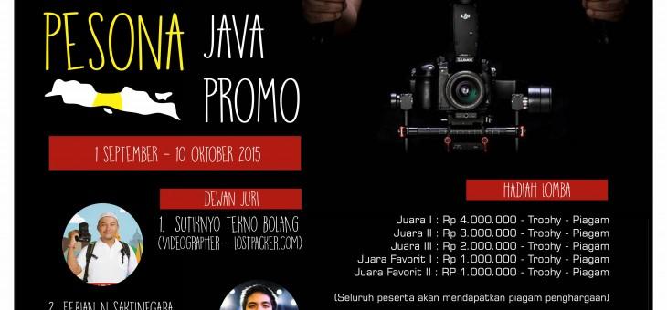 Pemenang Lomba Film Pendek 'Pesona Wisata Java Promo'