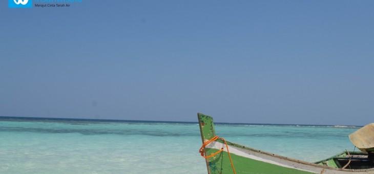 Menyeberang ke Pulau Katang yang Tak Berpenghuni