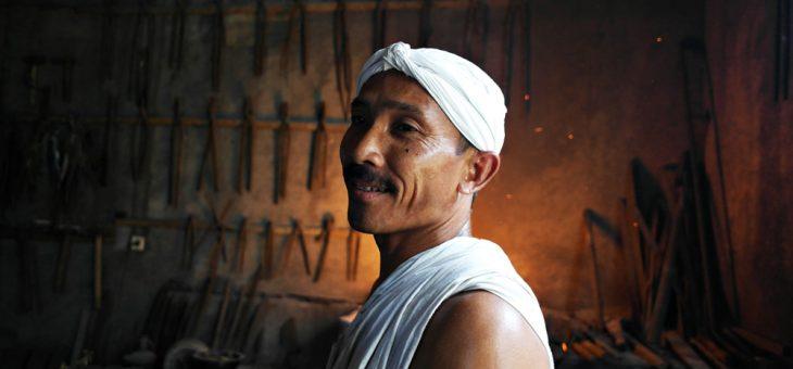Berjumpa Para Penempa Keris di Padepokan Brojobuwono