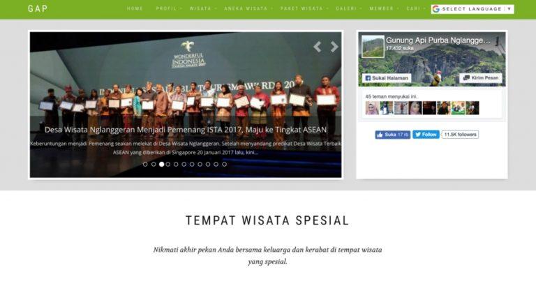 Website Nglanggeran