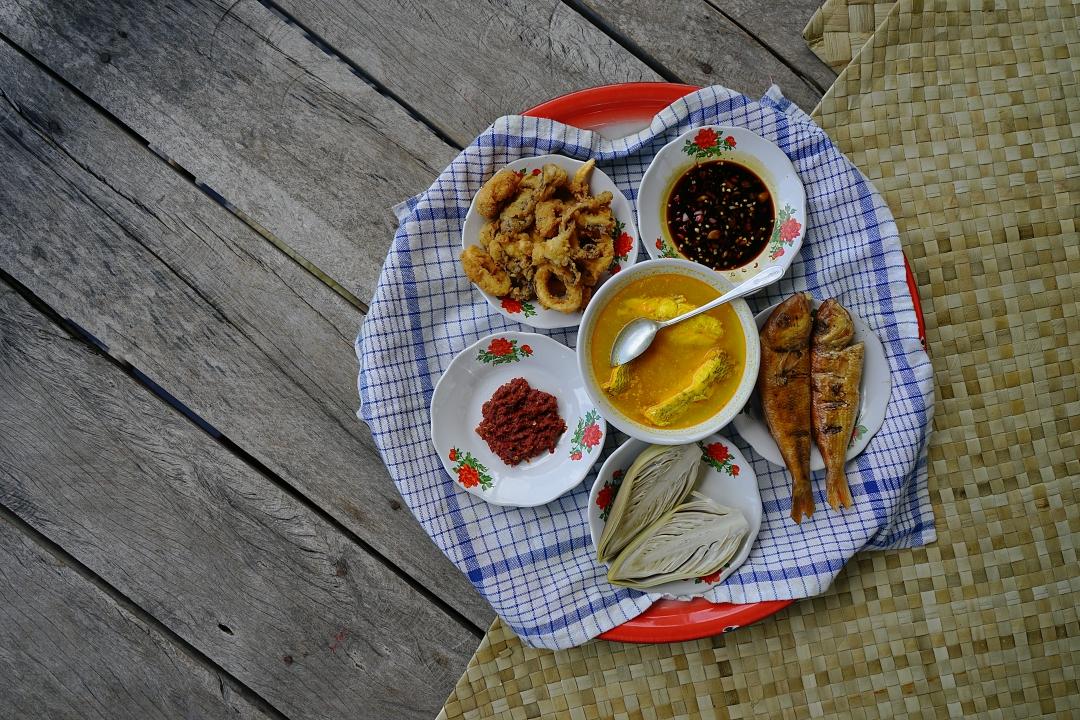 Makan Bedulang Belitung