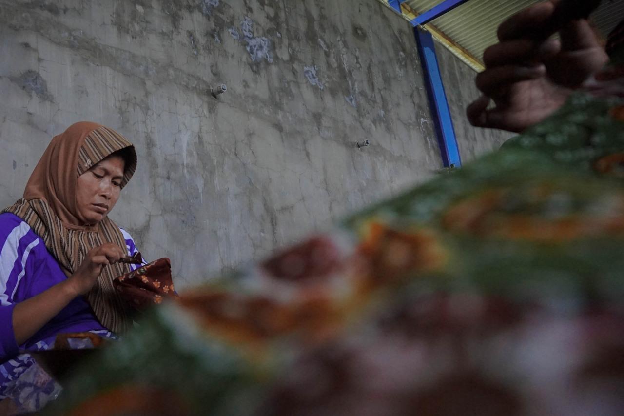 batik Pamekasan, Desa Klampar