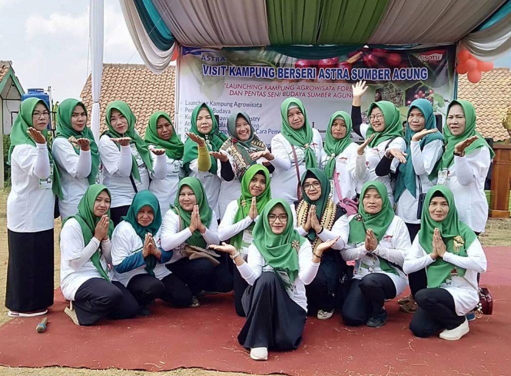 Kampung Berseri Astra Sumber Agung Lampung